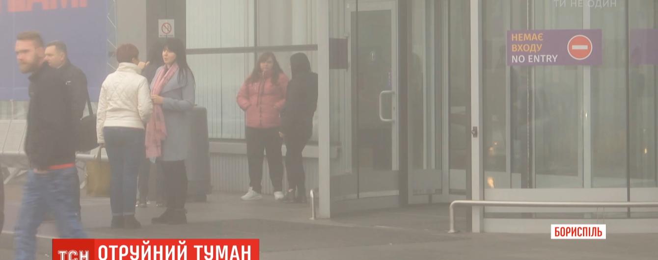 """Запах аммиака, который парализовал """"Борисполь"""" попал в аэропорту с поля. Его обрабатывали аграрии"""