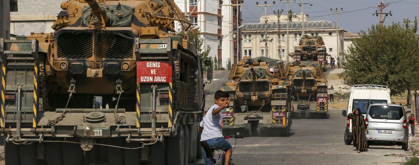 Турция заявила об окончании военной операции на севере Сирии