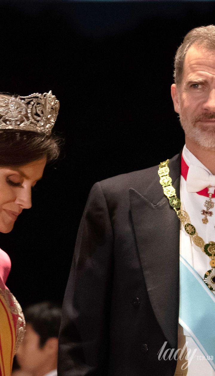 Королева Летиція и король Філіп VI