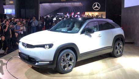 Mazda представила свій перший електрокар за $39 тисяч