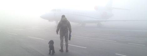 """Из-за густого тумана в аэропорту """"Киев"""" отменили четыре рейса"""