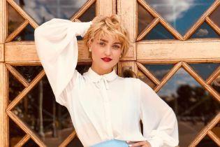 VERA KEKELIA повторила легендарный образ Мадонны из 90-х