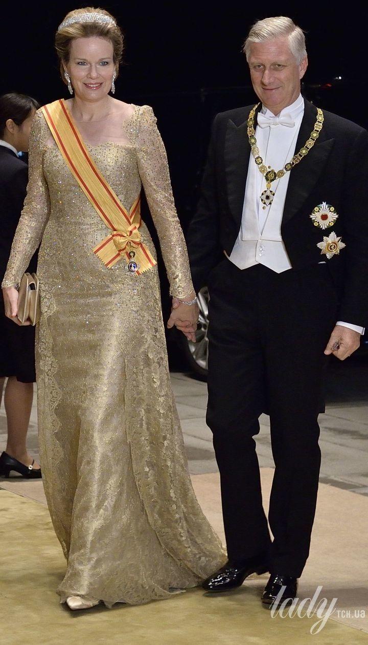 Королева Матильда и король Філіп