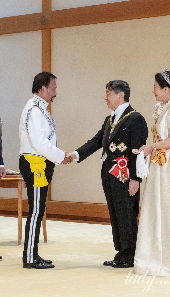 Императрица Японии Масако и император Нарухито