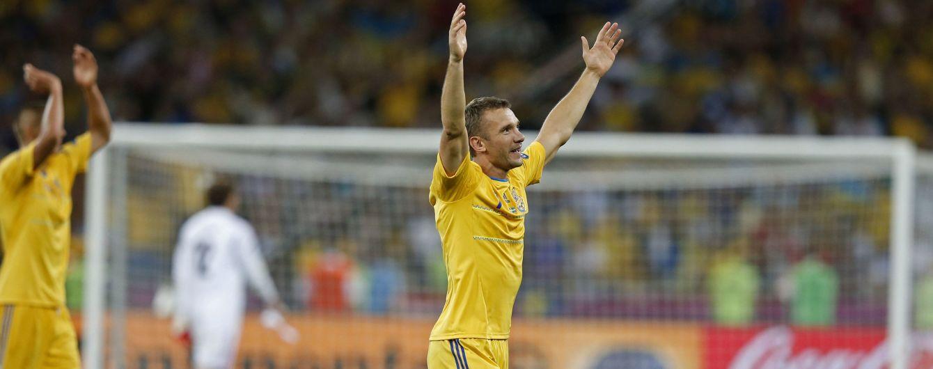 Шевченко потрапив до рейтингу топфутболістів XXI століття