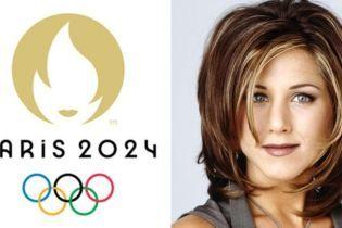 Похож на Энистон и Tinder. Сеть смеется над логотипом летних Олимпийских игр 2024