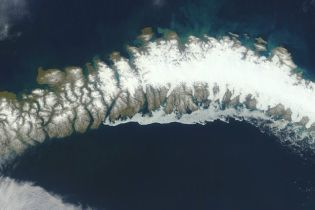 Таяние ледников обнажило пять неизвестных ранее островов в Арктике