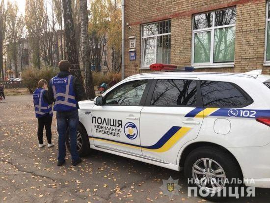 У Києві школярка вистрибнула у вікно з четвертого поверху школи