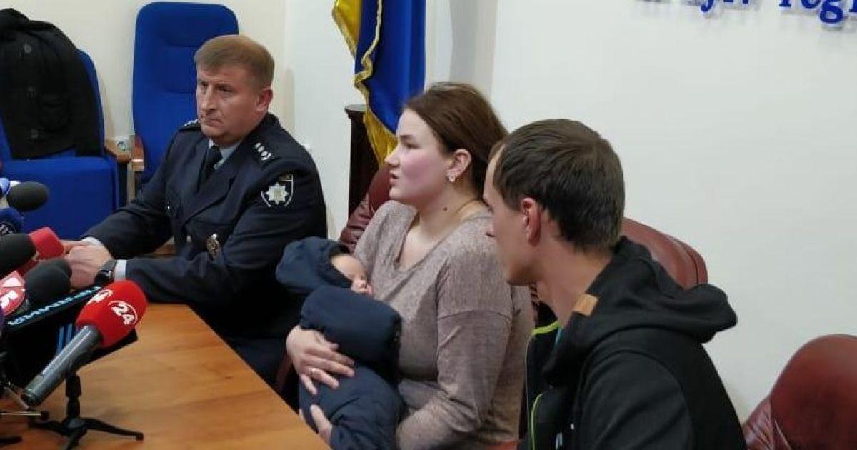 Полиция обнародовала видео момента, как матери возвращают похищенного у нее младенца