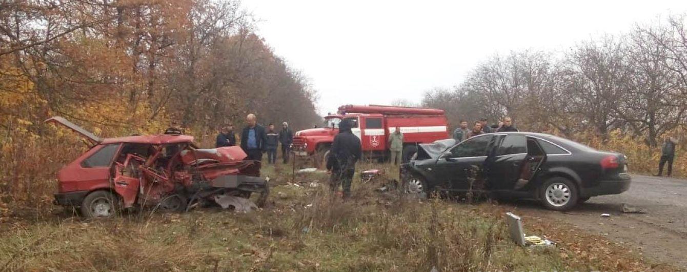 На Вінниччині в жахливій ДТП загинули три людини
