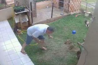В Бразилии мужчина подорвал собственный двор, пытаясь уничтожить тараканов