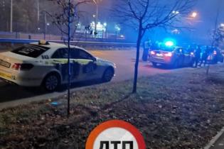 """""""Пьяная битва такси"""". В Киеве водители не поделили ночную дорогу"""
