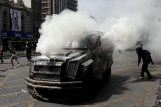 Масові протести в Чилі. Президент скасував у країні надзвичайний стан