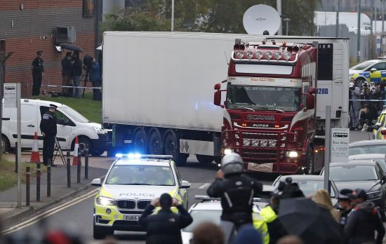 У Британії в справі із загиблими мігрантами з'явився ще один підозрюваний