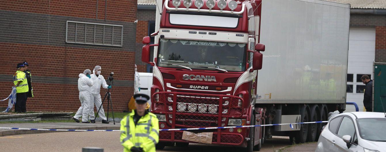 Водієві вантажівки, в якій знайшли 39 тіл, висунули звинувачення