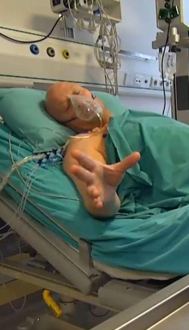 Впервые в Украине пациенту вживили искусственное мини-сердце
