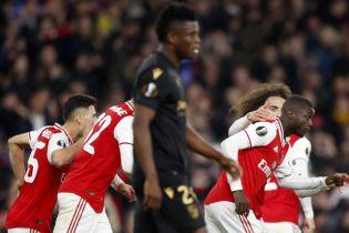 """""""Арсенал"""" благодаря двум невероятным штрафным одержал волевую победу в Лиге Европы"""