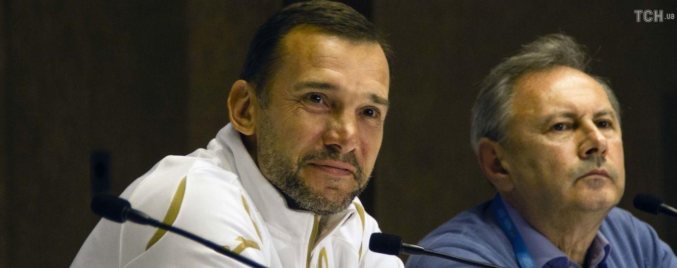Шевченко вызвал 25 футболистов на последние матчи года сборной Украины