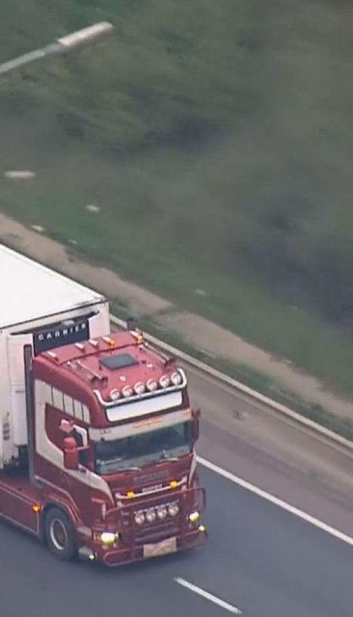 В найденном в Великобритании грузовике среди трупов могут быть граждане Вьетнама