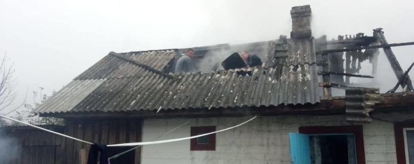 На Рівненщині у будинку згоріла живцем 5-річна дитина