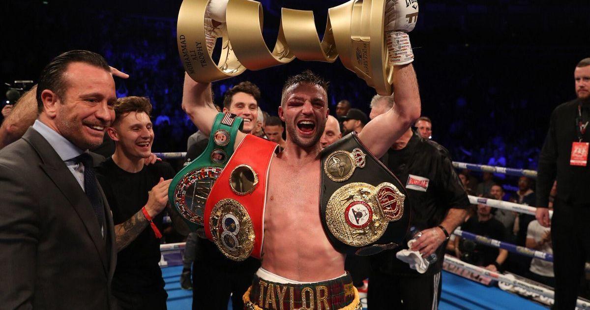 Тейлор решением судей победил Прогрейса и выиграл Всемирную боксерскую суперсерию