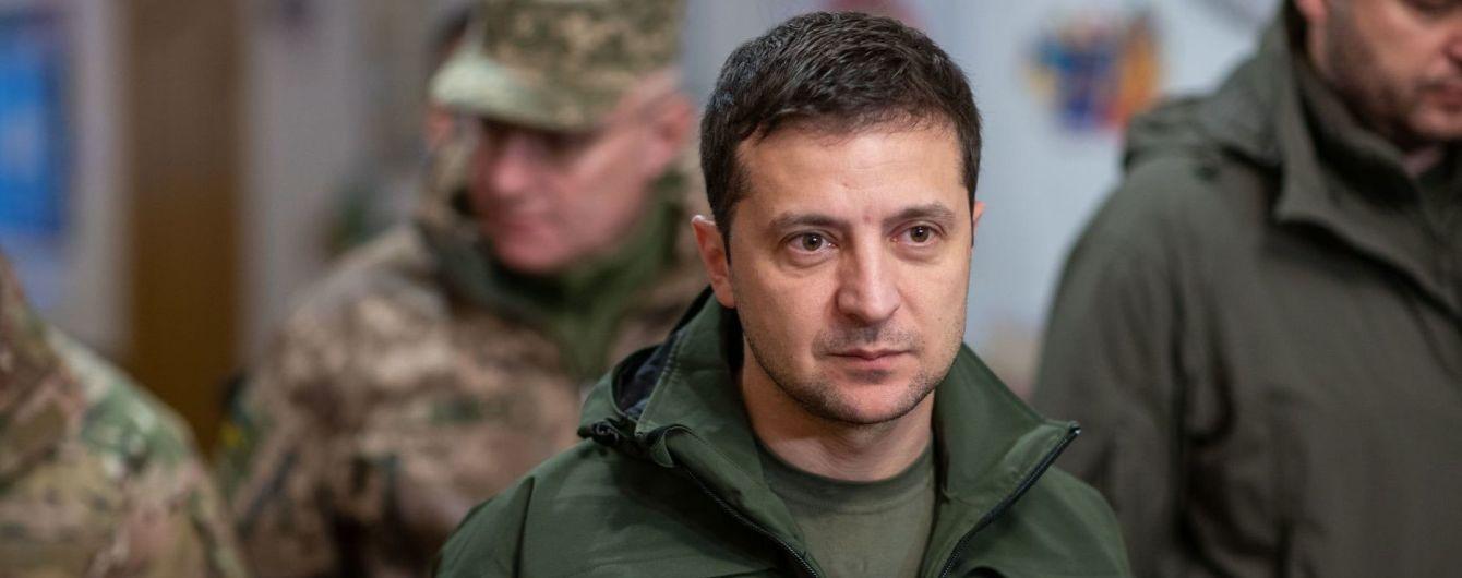 Зеленський прокоментував ідею Путіна розвести війська по всій лінії розмежування
