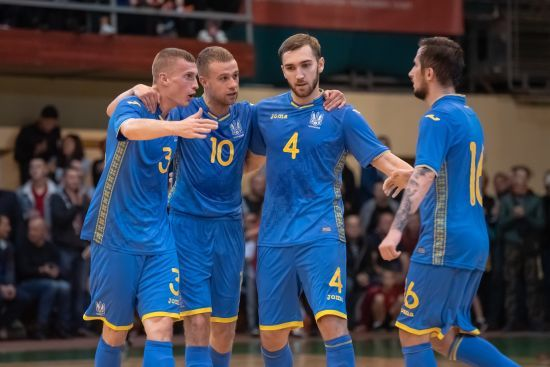 Збірна України з футзалу вийшла до еліт-раунду відбору Чемпіонату світу-2020
