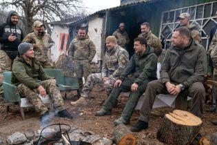 Ветераны-добровольцы, с которыми у Зеленского была словесная перепалка, вывезли оружие из Золотого