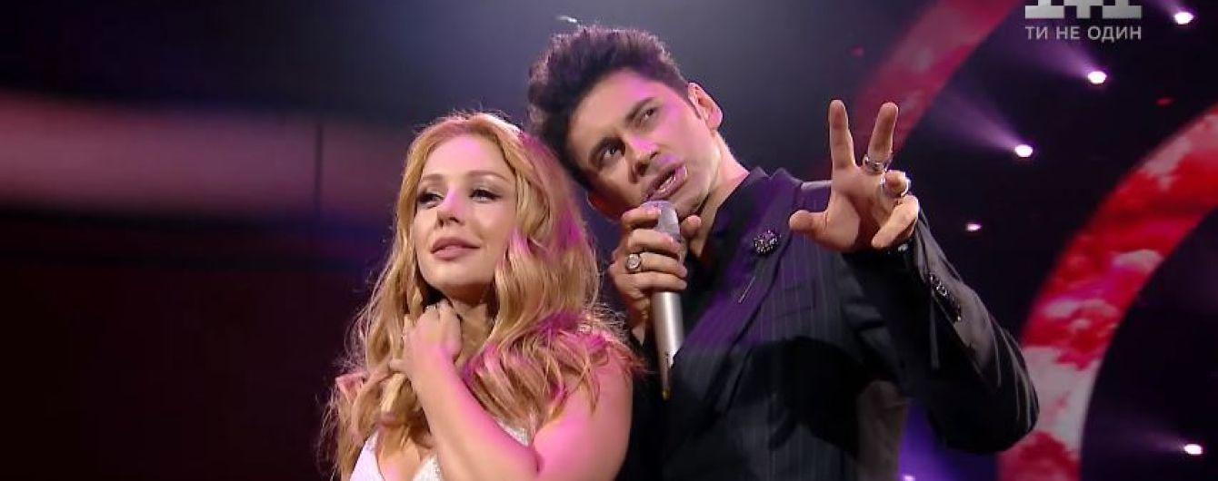 """""""Танці з зірками"""": Тіна Кароль та Dan Balan ніжно заспівали дуетом у прямому ефірі"""