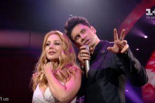 """""""Танці з зірками"""": Тина Кароль и Dan Balan нежно спели дуэтом в прямом эфире"""