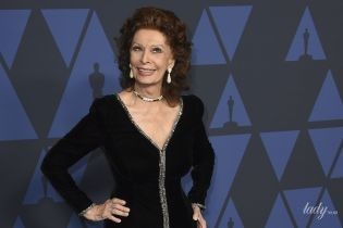 У це неможливо повірити: 85-річна Софі Лорен елегантною сукнею підкреслила струнку фігуру