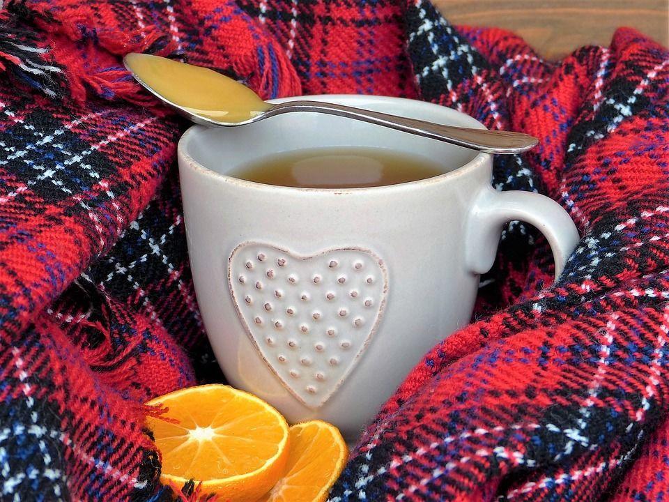 Затуда, чай, лимон