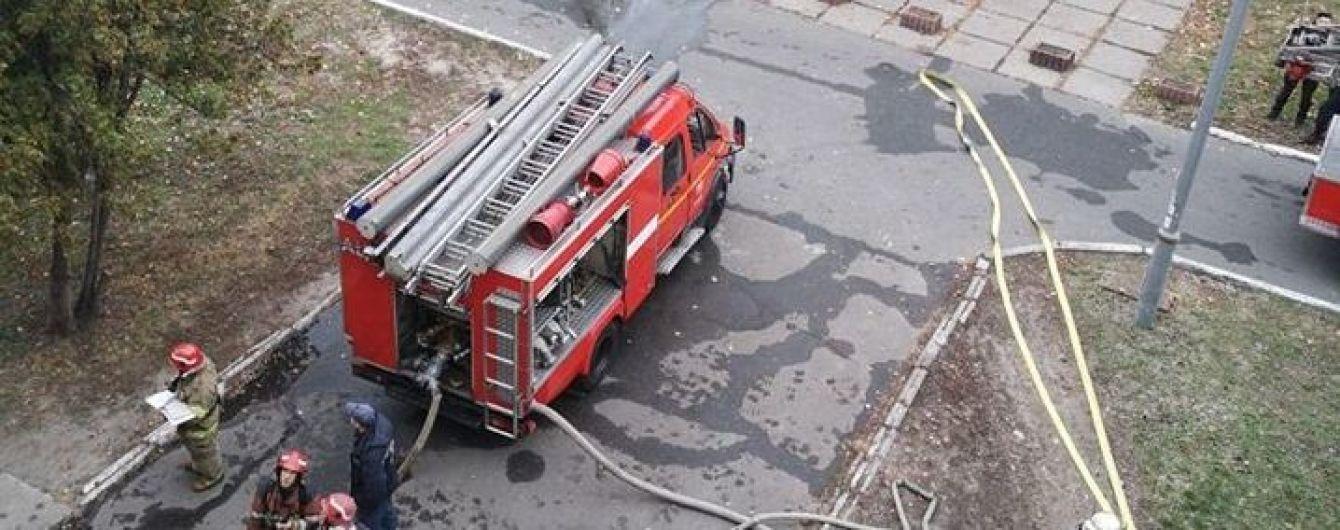 У лікарні швидкої допомоги загорівся кабінет над операційною, в якій в цей час працювали хірурги