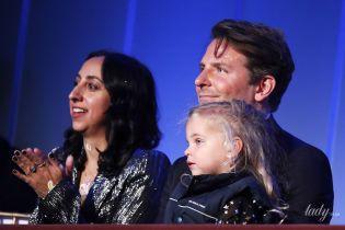 Само очарование: дочь Ирины Шейк вместе со своим отцом пришла на светское мероприятие