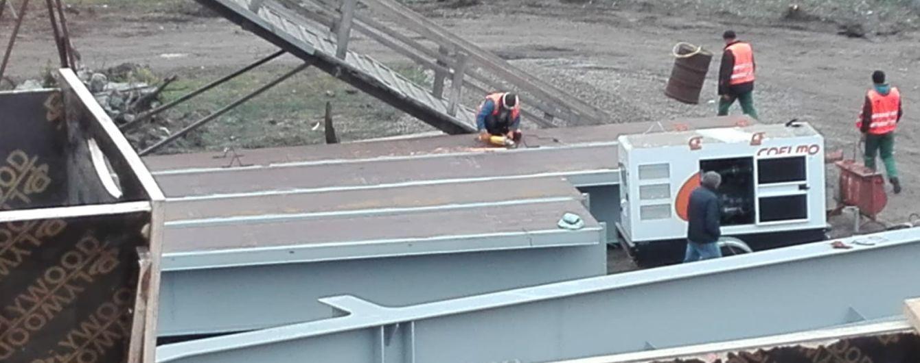 """""""Скорая сможет проезжать"""". Глава Луганской ОГА рассказал, каким будет мост в Станице Луганской"""