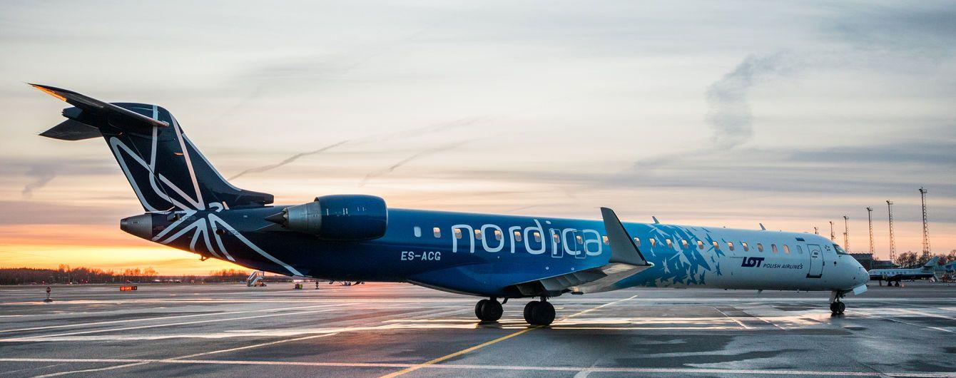 Nordica прекратила полеты из Киева в Таллин