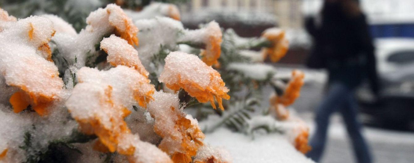Зима наближається: синоптики прогнозують останні дні тепла
