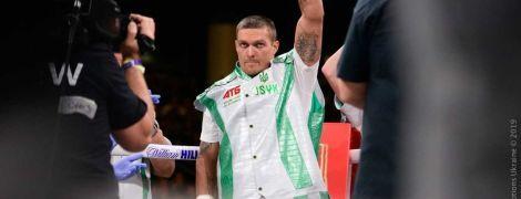 Усик возобновил тренировки после победы в дебютном бою в супертяжелом весе
