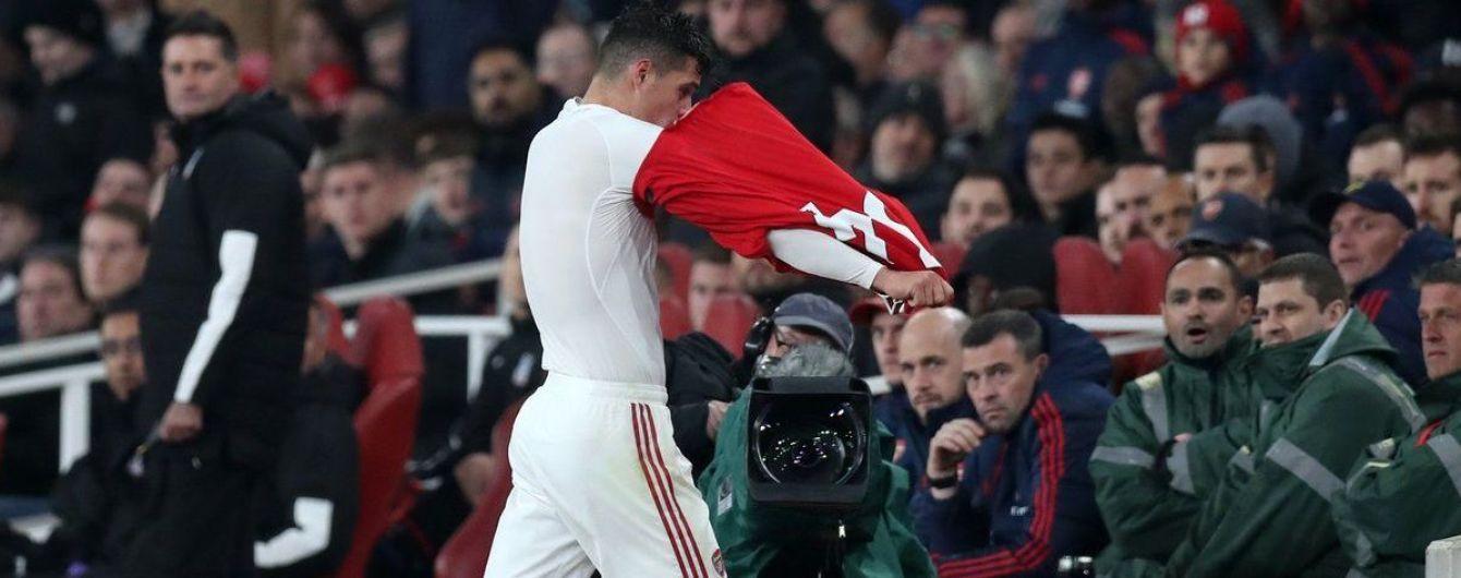 """Капітан """"Арсенала"""" послав фанатів та відмовився просити вибачення"""