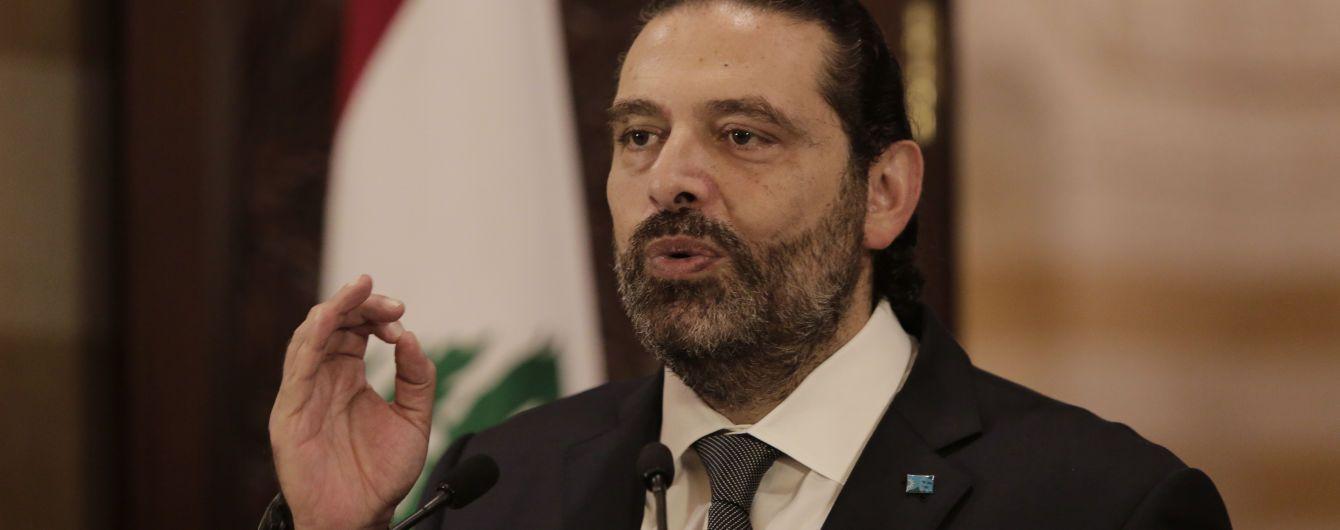 Премьер-министр Ливана подал в отставку из-за массовых протестов