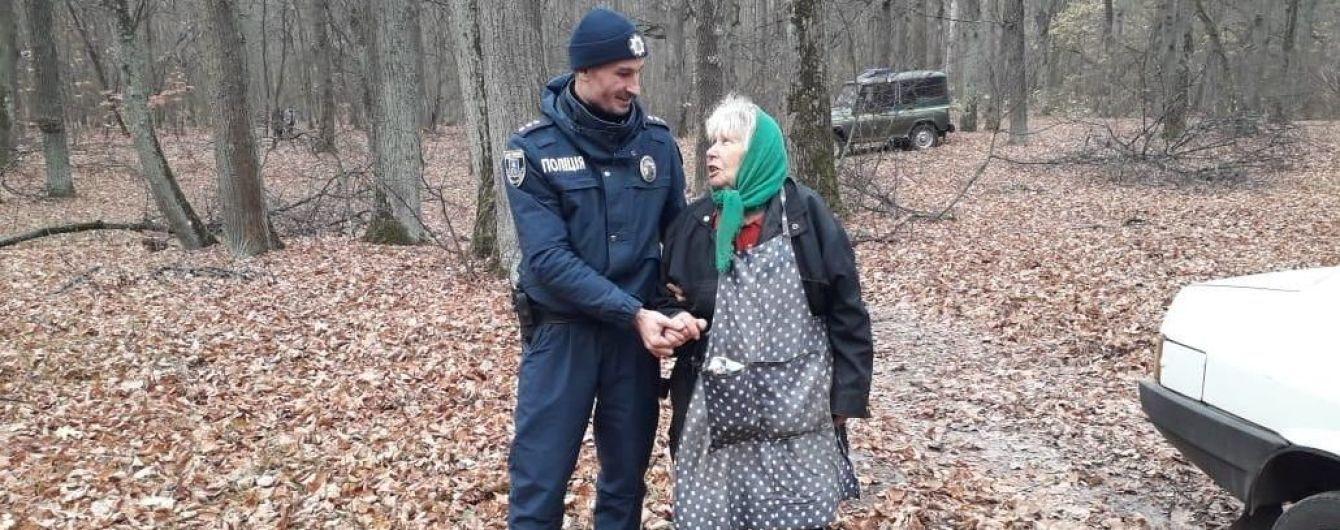 На Сумщині пенсіонерка на добу загубилася в лісі, куди пішла за грибами