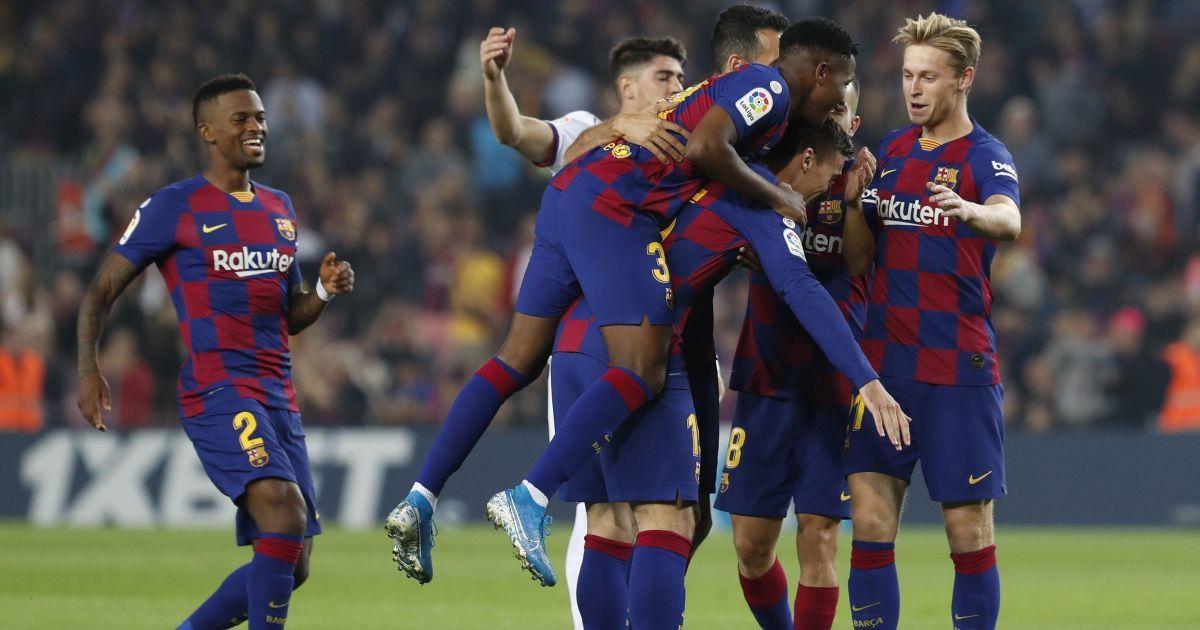 """""""Барселона"""" здобула ефектну перемогу над командою Луніна в Примері"""