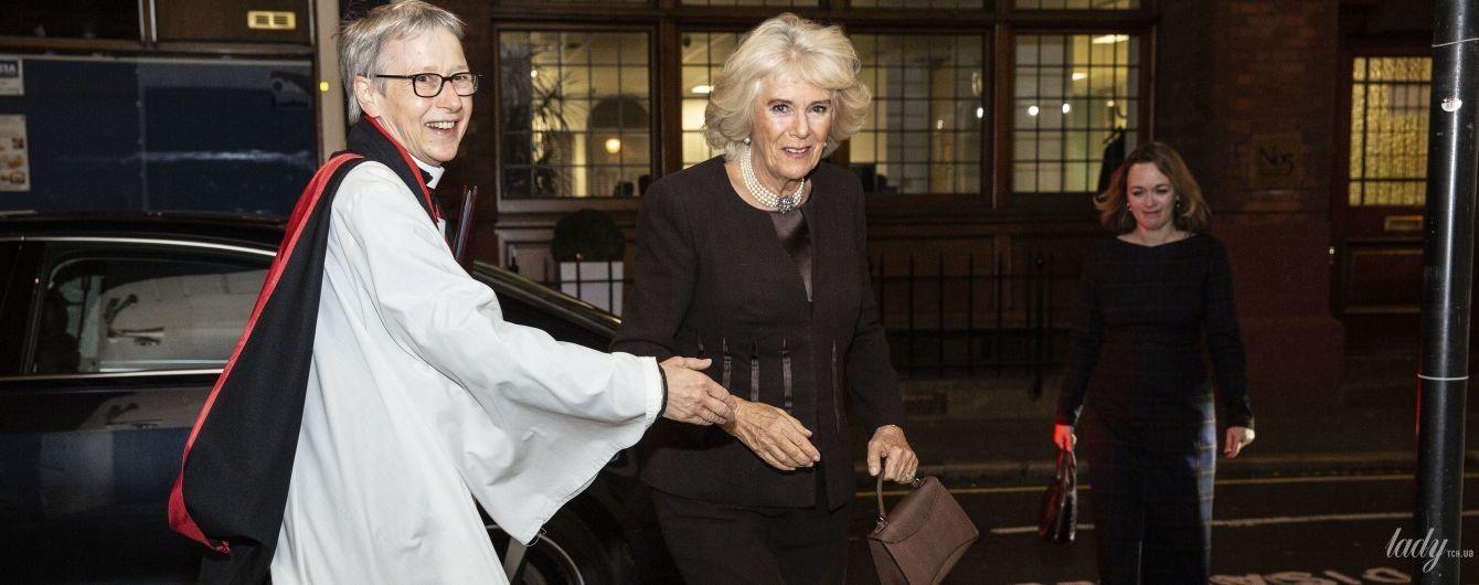 Скромно, але елегантно: герцогиня Корнуольська відвідала пам'ятну службу в Лондоні