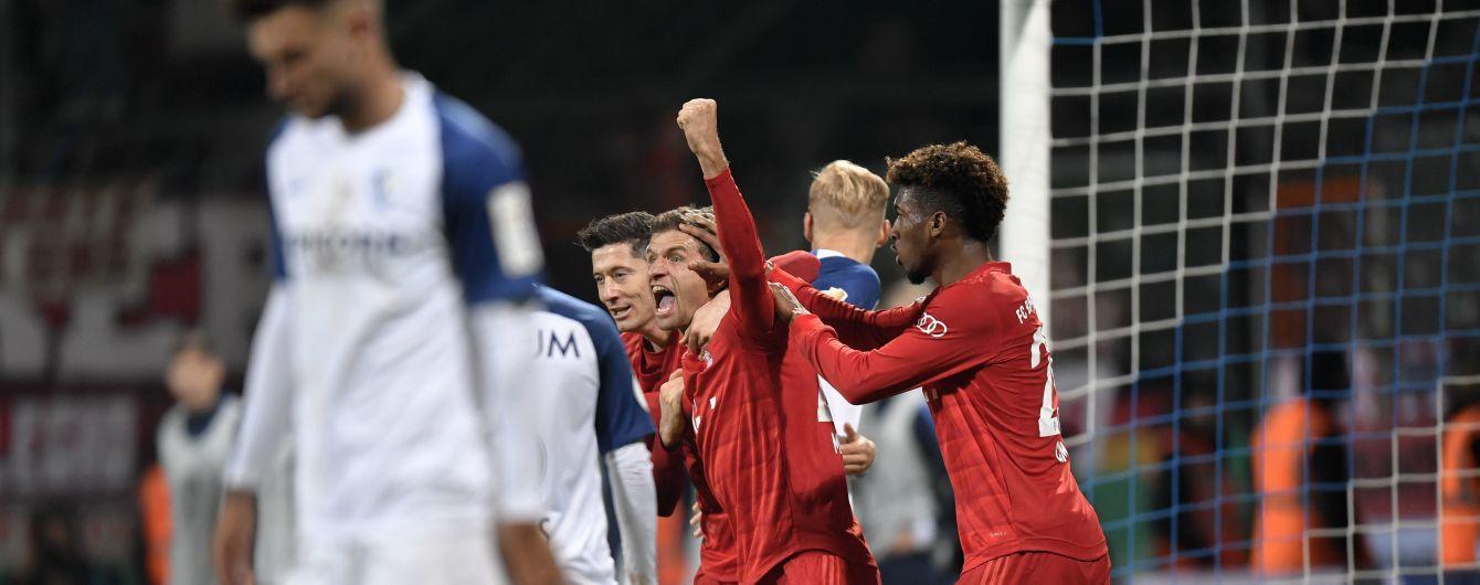 """""""Баварія"""" з великими труднощами пробилася до наступного раунду Кубка Німеччини"""