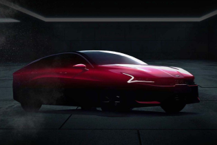 Новую Kia Optima показали на тизерах