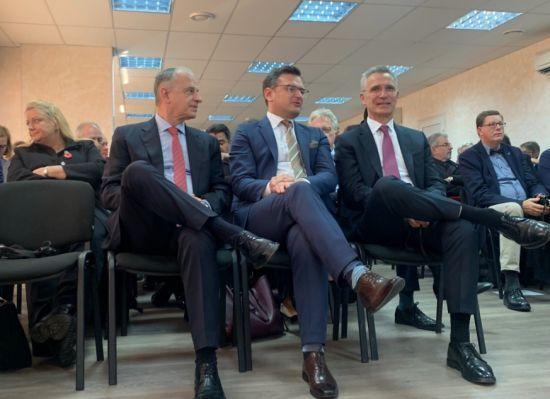 Генсек НАТО Столтенберг прибув до Одеси