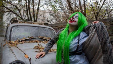 Три ярких образа на Хэллоуин своими руками: Джокер