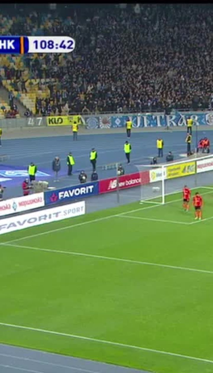 Динамо - Шахтар - 2:1. Відео голу Попова
