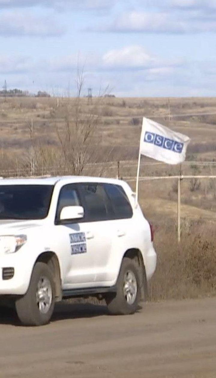 В Золотом продолжается разведение войск под наблюдением ОБСЕ