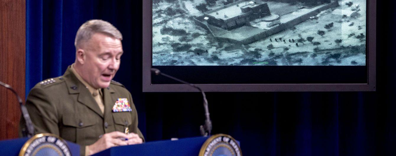 Пентагон оприлюднив перші фото і відео і розповів подробиці операції з ліквідації аль-Багдаді